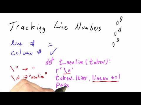 Tracking Line Numbers - Programming Languages thumbnail