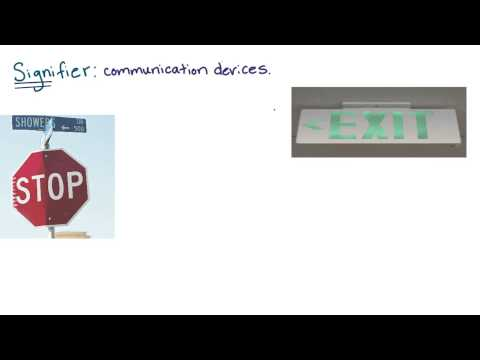 Definition - Signifier - Intro to the Design of Everyday Things thumbnail