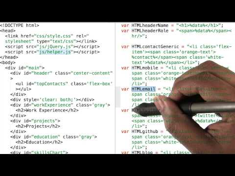 Mixing replace() and append() - JavaScript Basics thumbnail