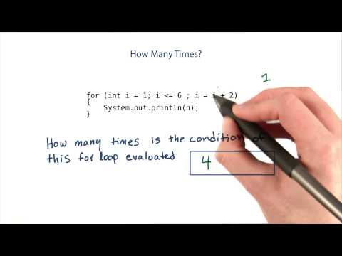 How Many Times Is the Condition Evaluated - Intro to Java Programming thumbnail