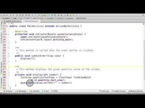 06a q Modifying First Line of Java Code thumbnail
