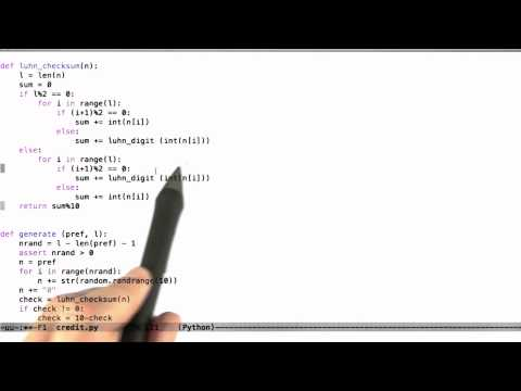 05-15 Luhns Algorithm Cont Solution thumbnail
