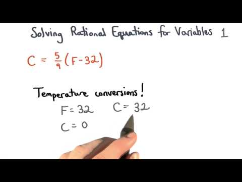 Solving Equations for Variables Check 1 - Visualizing Algebra thumbnail