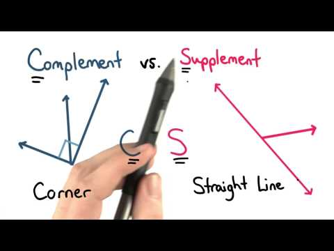 Complement vs Supplement - Visualizing Algebra thumbnail