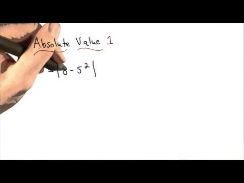 Absolute Value Practice 1 - Visualizing Algebra thumbnail
