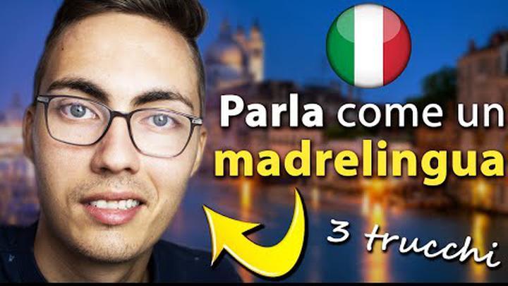 3 TRUCCHI di PRONUNCIA per parlare come gli italiani