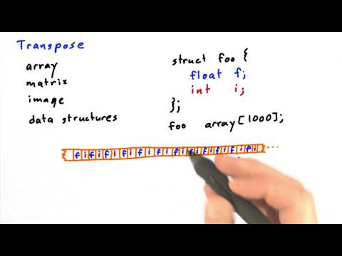 Transpose Part 2 - Intro to Parallel Programming thumbnail
