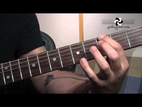 Blues Chord Extensions 9th 13th (Blues Rhythm Guitar - Guitar Lesson BL-206) How to play thumbnail