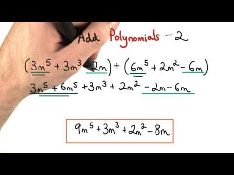 Add Polynomials Practice 2 - Visualizing Algebra thumbnail