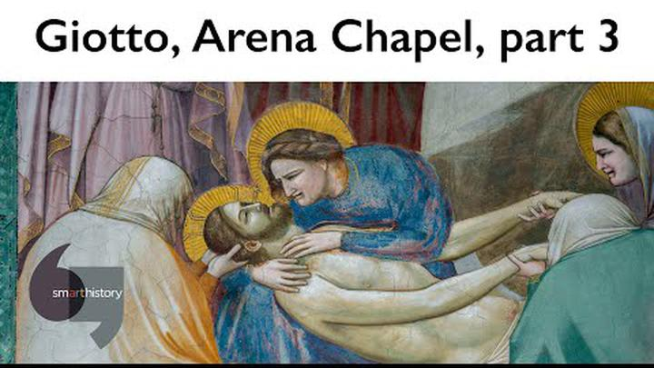 Giotto, The Lamentation, Arena Chapel, part 3 (of 4)