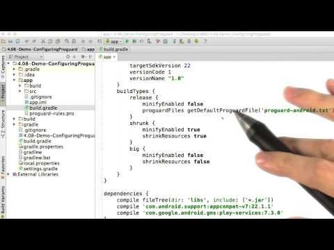 Configuring Proguard thumbnail