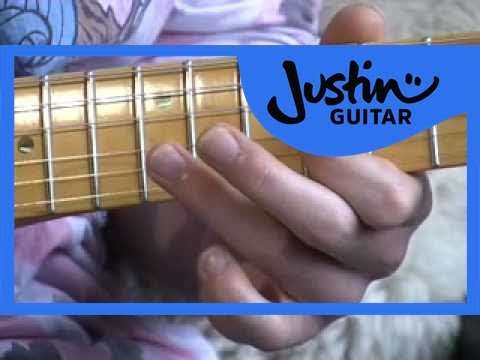 Blues Lead Guitar: Position 3 Licks #12 (Guitar Lesson BL-022) How to play thumbnail