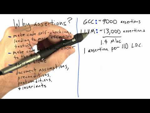 cs258 unit1 14 l Are Assertions Used in Production thumbnail