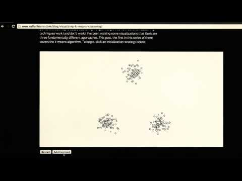 K-Means Clustering Visualization - Intro to Machine Learning thumbnail