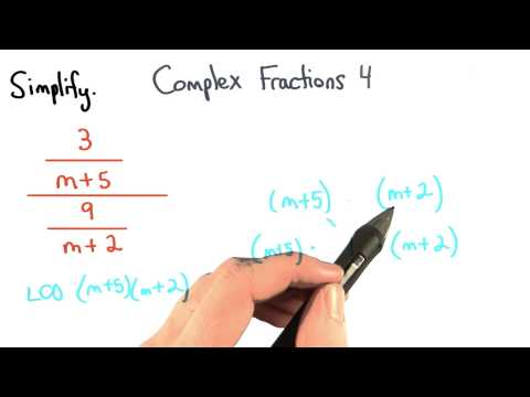 Complex Fractions Practice 4 - Visualizing Algebra thumbnail