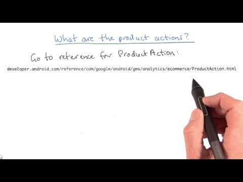 What are the product actions thumbnail