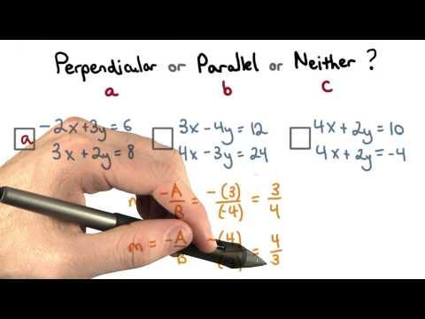 Parallel or Perpendicular 2 - Visualizing Algebra thumbnail