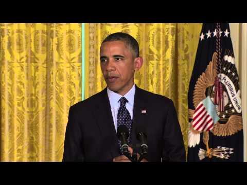 Watch President Obama Address IRS Scandal thumbnail