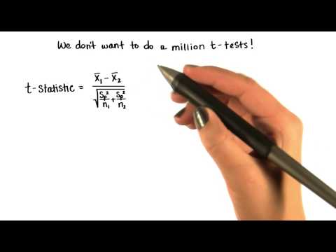 Extended t-Test Numerator - Intro to Inferential Statistics thumbnail