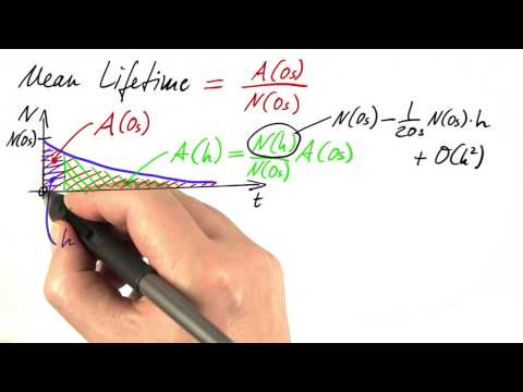 Mean Lifetime - Differential Equations in Action thumbnail