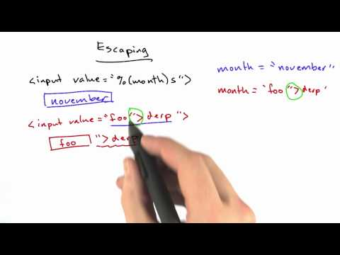 HTML Escaping - Web Development thumbnail
