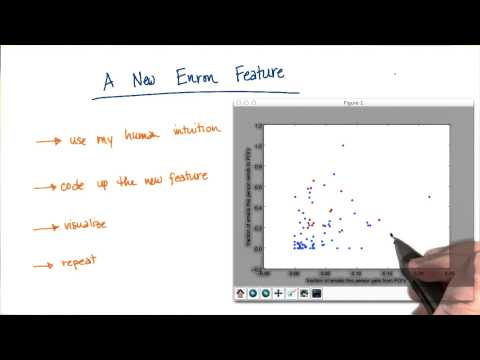 Visualizing New Feature Solution - Intro to Machine Learning thumbnail