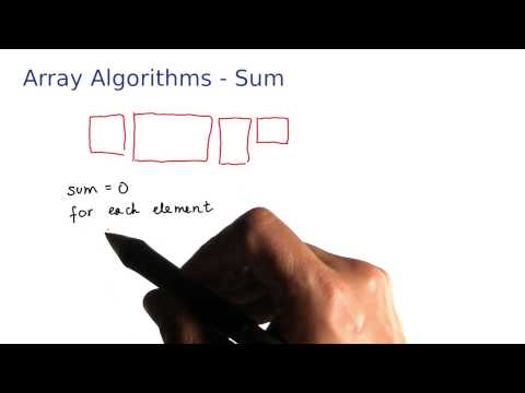 Array Algorithms Sum Over All Elements - Intro to Java Programming thumbnail