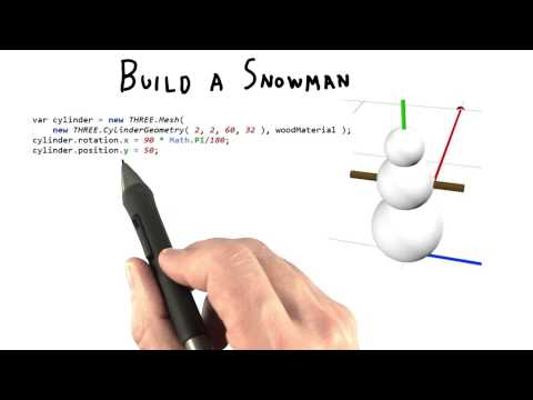 Build a Snowman - Interactive 3D Graphics thumbnail
