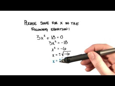 Solve For x - College Algebra thumbnail