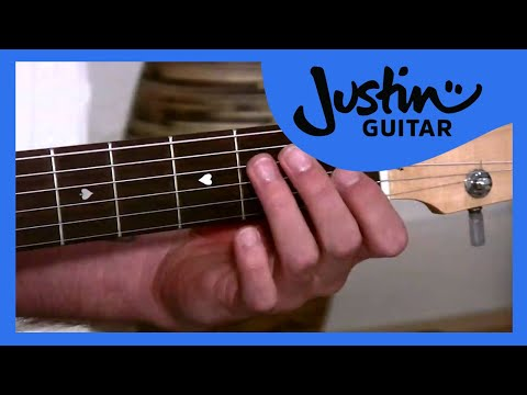 One Minute Changes (Guitar Lesson BC-124) Guitar for beginners Stage 2 thumbnail