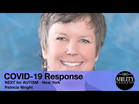COVID-19 Response - NEXT for AUTISM - Patrica Wright thumbnail