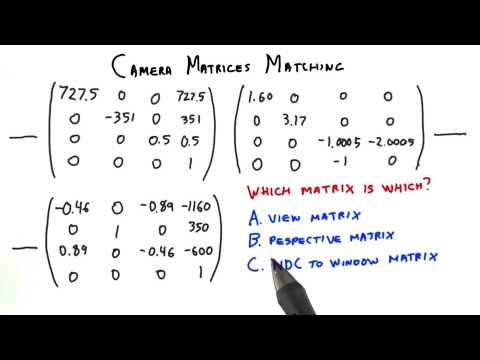 Camera Matrices Matching thumbnail
