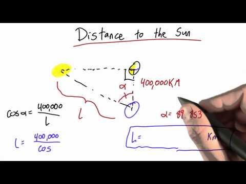 02ps-11 Distance To The Sun Solution thumbnail