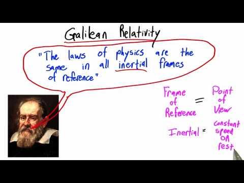 09-05 Galilean Relativity thumbnail