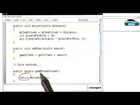 Additional Car Methods - Intro to Java Programming thumbnail