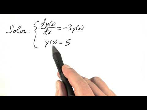 Exponential Function Solution - Differential Equations in Action thumbnail
