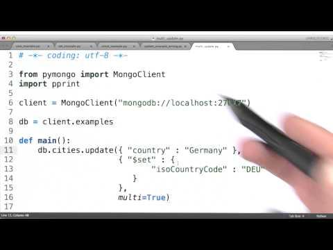 Multi Update - Data Wranging with MongoDB thumbnail