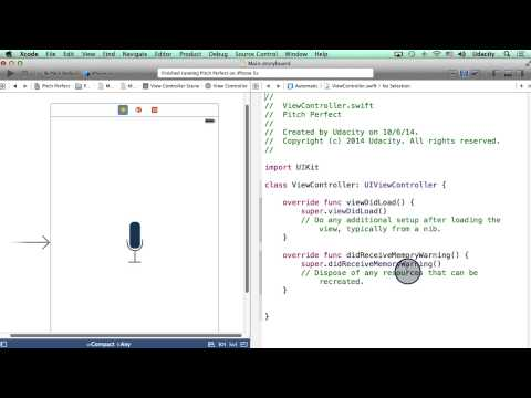Adding an Action to a Button - Intro to iOS App Development with Swift thumbnail