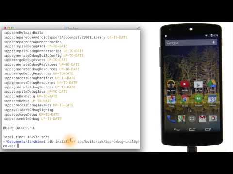 Launching on  a Device - Developing Android Apps thumbnail