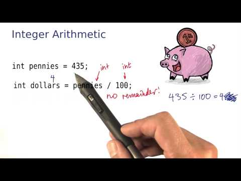 Integer Arithmetic - Intro to Java Programming thumbnail