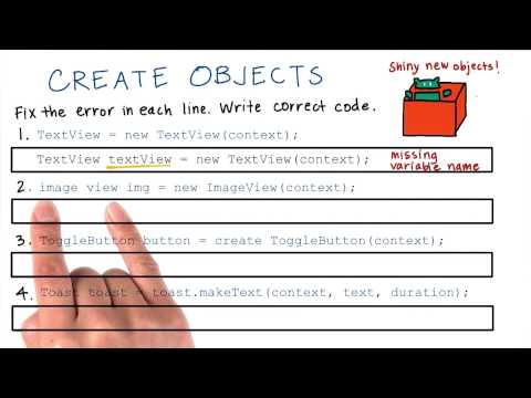 12-28 Create an Object - Solution thumbnail