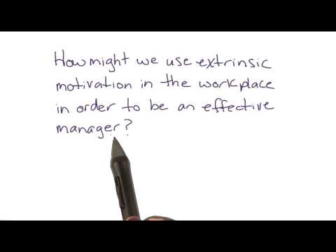 Extrinsic motivation in the workplace - Intro to Psychology thumbnail