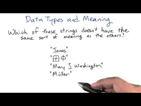 Data Meanings - Intro to Relational Databases thumbnail