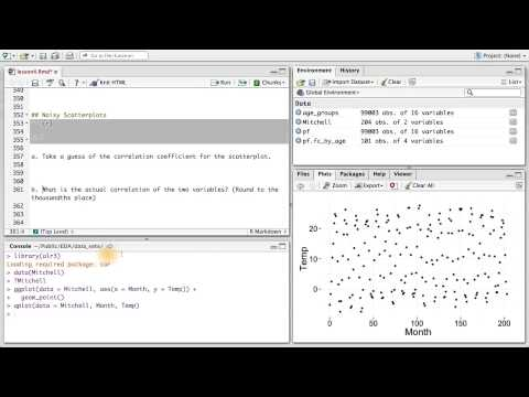 Noisy Scatterplots - Data Analysis with R thumbnail
