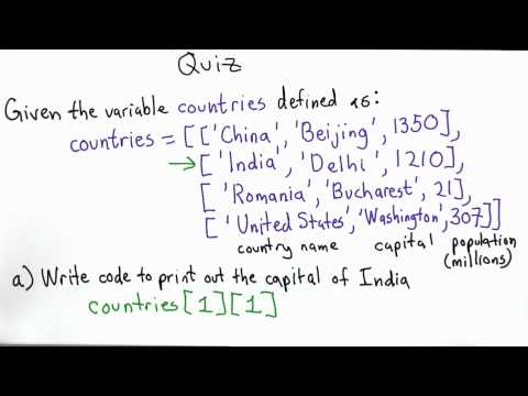 Countries Solution - Intro to Computer Science thumbnail