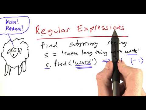 Regular Expressions Review - Part 1 - Design of Computer Programs thumbnail