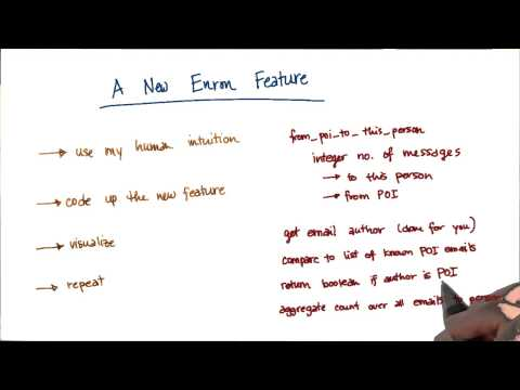 New Enron Feature Quiz - Intro to Machine Learning thumbnail
