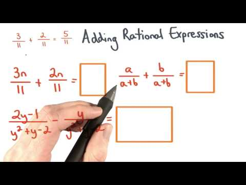 Adding Rational Expressions Like Denominators - Visualizing Algebra thumbnail