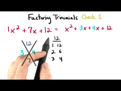 Factoring Check 1 - Visualizing Algebra thumbnail