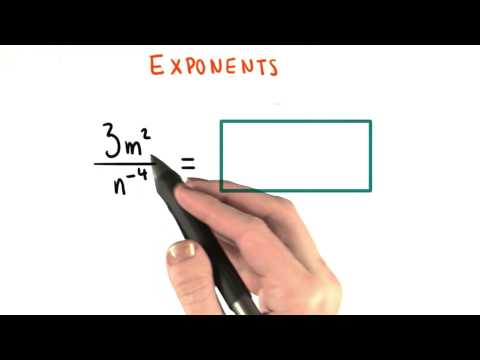 No Negative Exponents 2 - College Algebra thumbnail